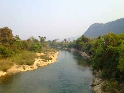 Vang-Vieng-Fluss